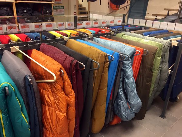 Combien faut-il mettre lors de l'achat d'un sac de couchage ?