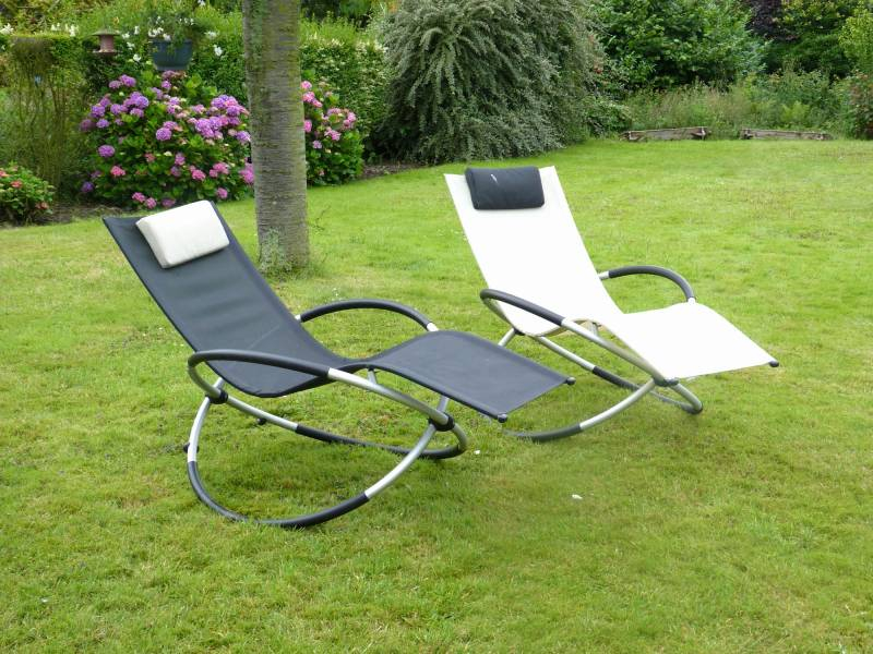 À Superbe Liée Gifi Relax Fauteuil Jardin Transat N0nXZP8wkO