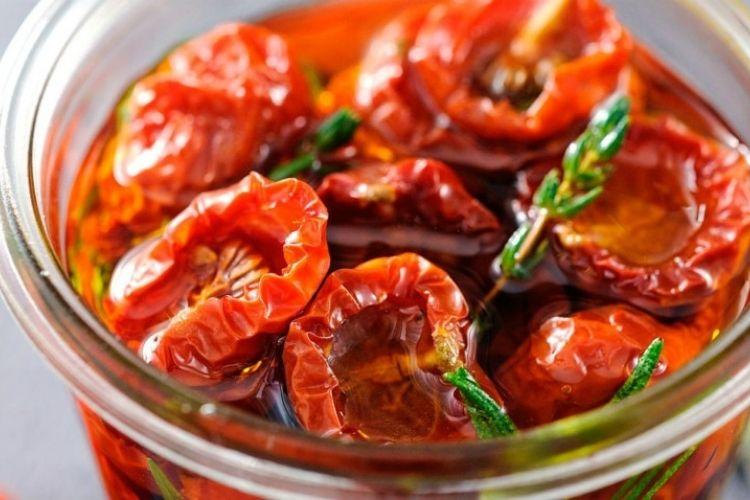 recettes avec tomates séchées à l'huile
